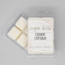 Nutty scented wax cubes