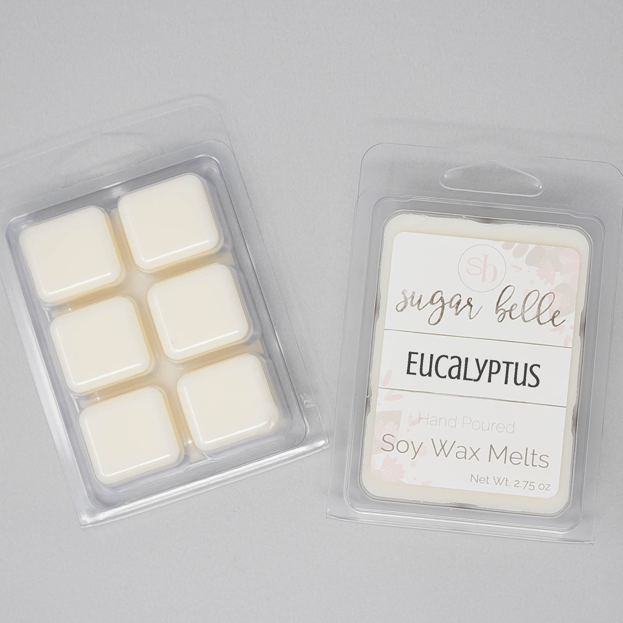 Spa Scented Candle Melts Scented Wax Cubes Eucalyptus Scented Soy Melts Gifts for Her Scented Wax Melts Eucalyptus Wax Melt