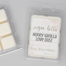 honey scented wax cubes