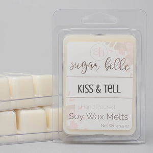 kiss and tell scented candle cubes