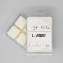 floral lavender soy wax melts
