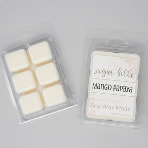 scented wax cubes mango