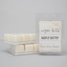 maple syrup scented wax melts