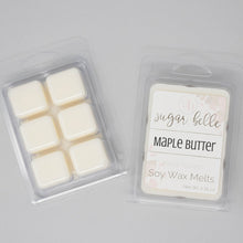 maple butter scented wax cubes