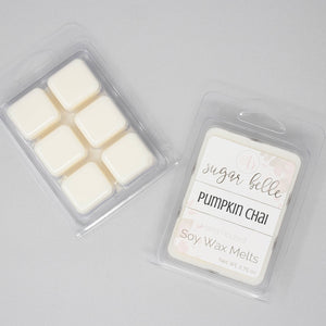 baked pumpkin scented wax melts