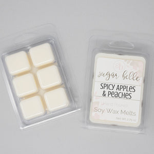 apples and peaches wax melts
