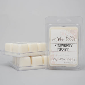 sweet strawberry scents wax melts