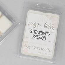 strawberry scented wax melts