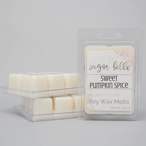 sweet pumpkin spice wax cubes