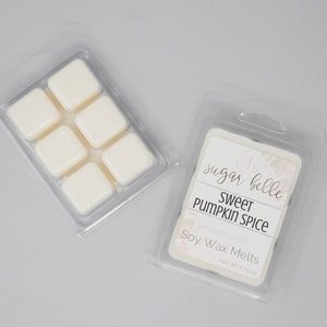 fall scented pumpkin wax melts