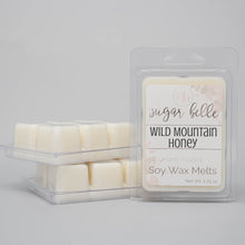 earthy scented wax cubes