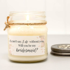 i cant say i do without you candle