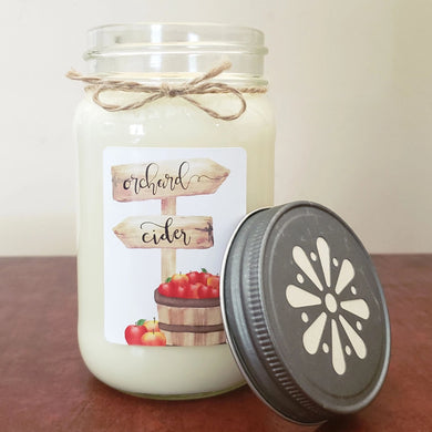 Apple Orchard Mason Jar Candle | Fall Farmhouse Collection