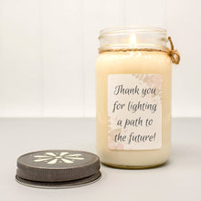back to school teacher gifts candle