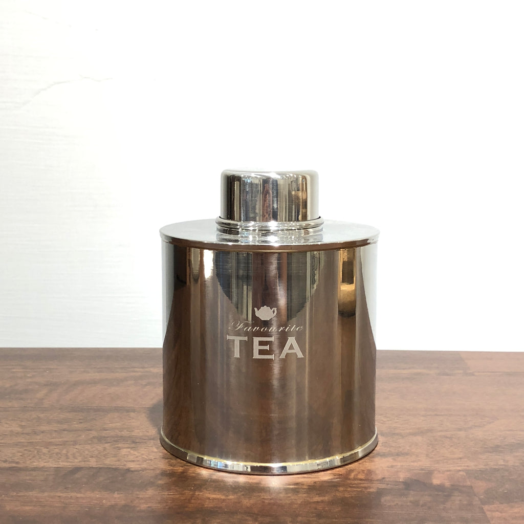 VINTAGE Korone Tea Caddy