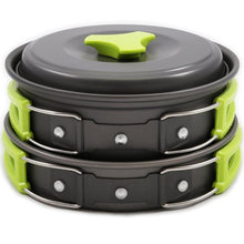 Lightweight Pan and Skillet Set for Hiking, Backpacking, Camping