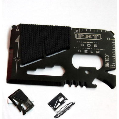 Outdoor Tactical Multi-Purpose All in One Survival Tool