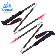 Set of Trekking Poles for Hiking or Backpacking