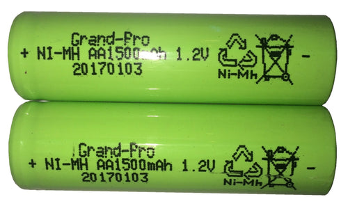 Replacement Battery 1.2V 1500mAH