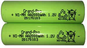 Replacement Battery 1.2V 2000mAH