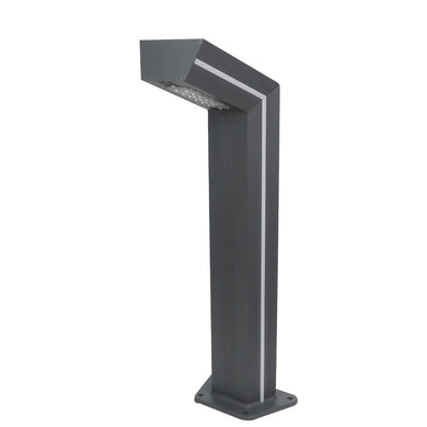Industrial Bollard Light - Grey