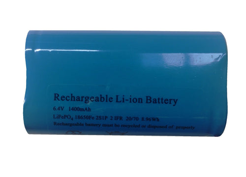 Replacement Battery 6.4V 1400mAH