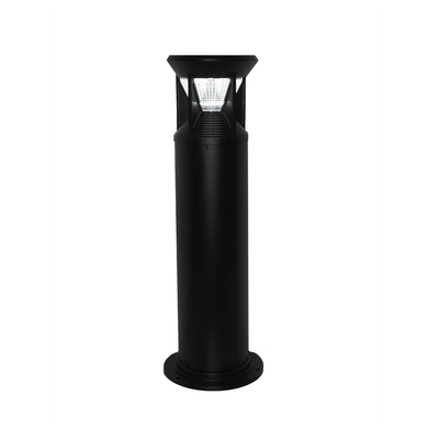 Industrial Bollard Light - Black