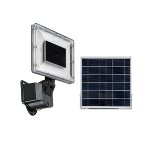 """FreD"" Flood Light with IP Camera - Black"