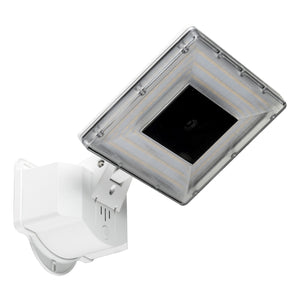 """FreD"" Flood Light with IP Camera - White"
