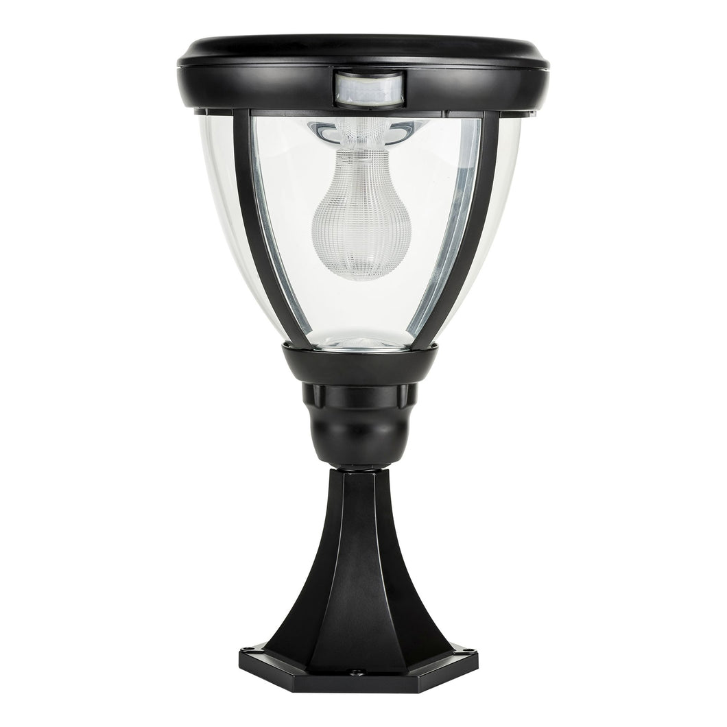 Pillar Light with Motion Sensor