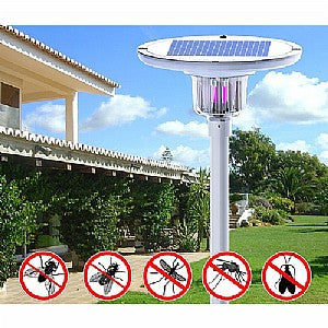 Park Light With Insect Zapper