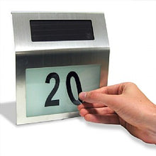 Stainless Steel Illuminated House Number