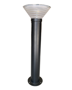 Commercial Bollard Light - Stainless Steel (PC Black)