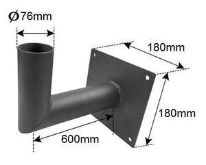 Wall Bracket to suit All-In-One Street Lights