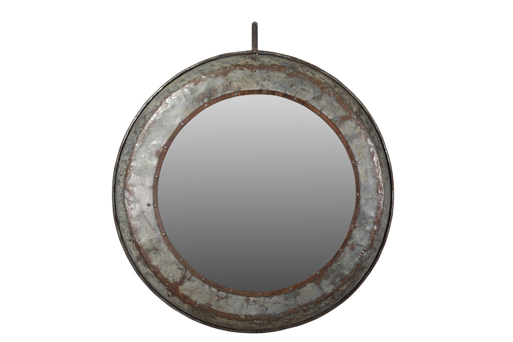 INDIAN IRON MIRROR
