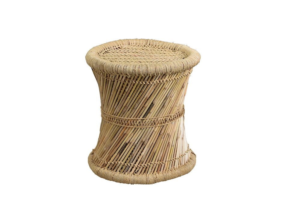 INDIAN BAMBOO STOOL