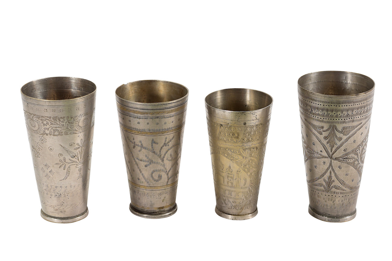 INDIAN BRASS LASSI CUP