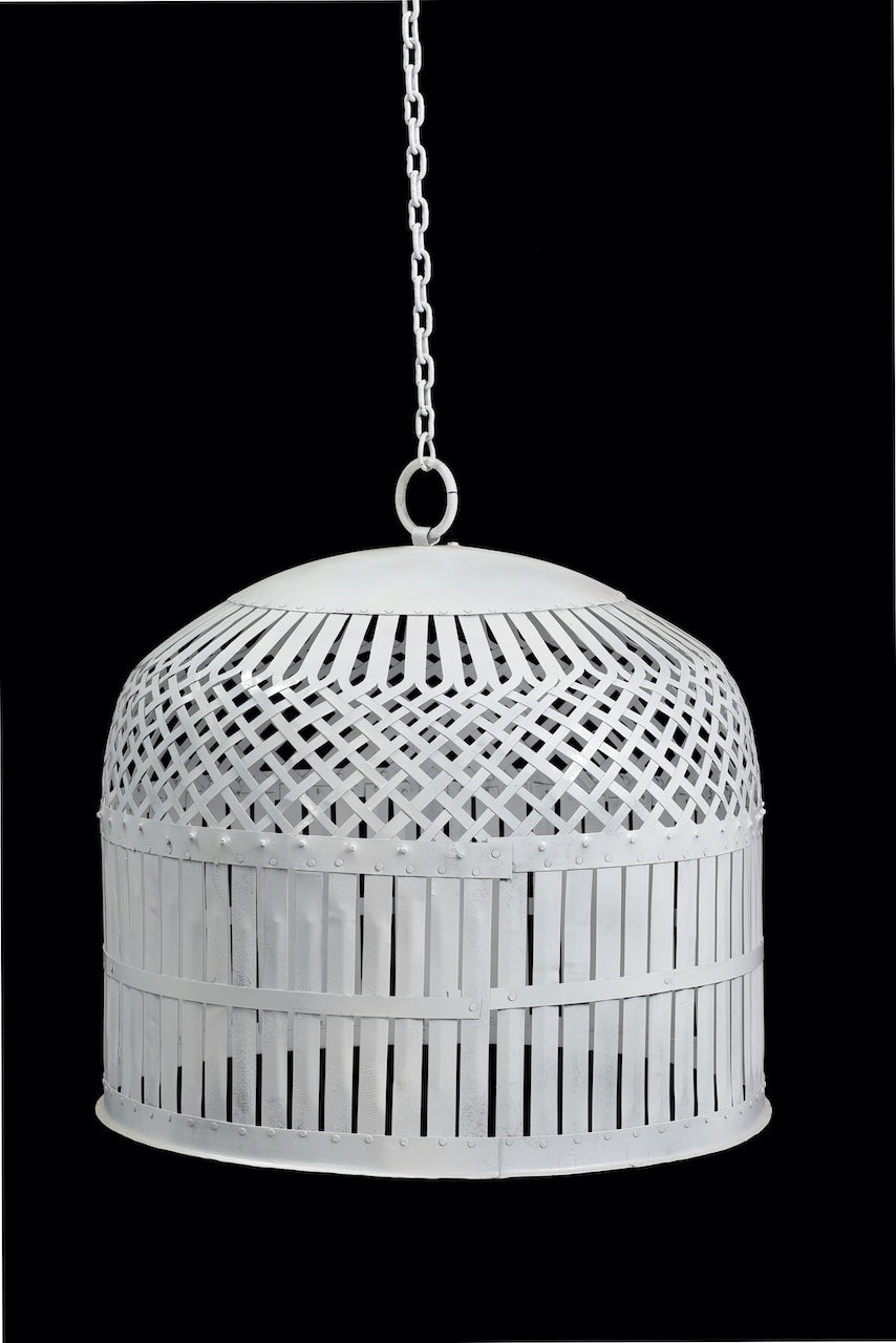 IRON JALI LIGHT SHADE / LARGE