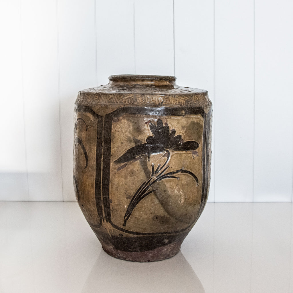 ORIENTAL POT | BROWN
