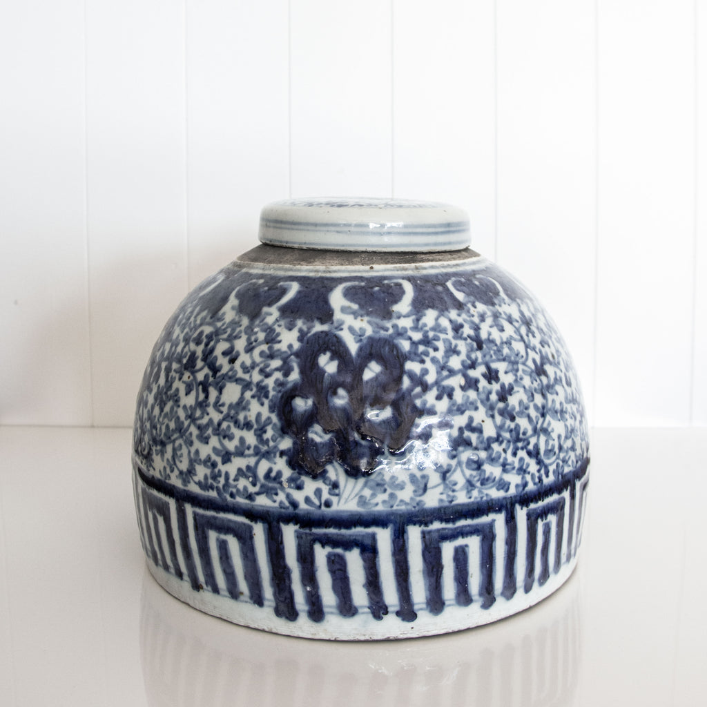 GINGER JAR / BLUE & WHITE