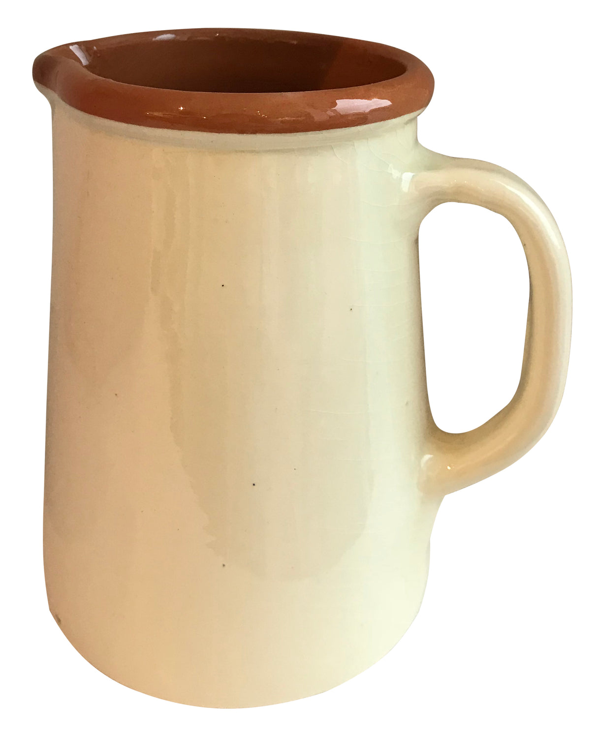 From the region of Catalonia, Spain comes this beautiful, authentic Spanish Jug