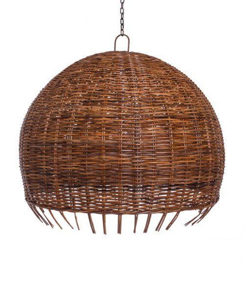 RATTAN JELLYFISH LIGHT SHADE