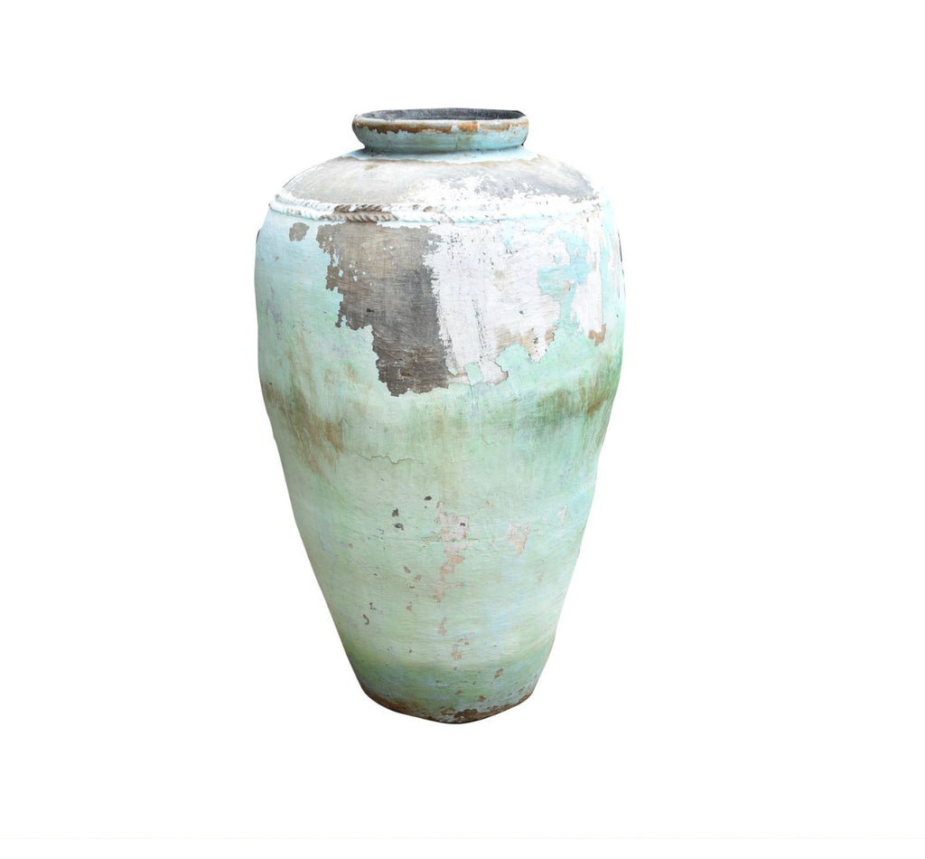 VINTAGE INDIAN POT | BLUE