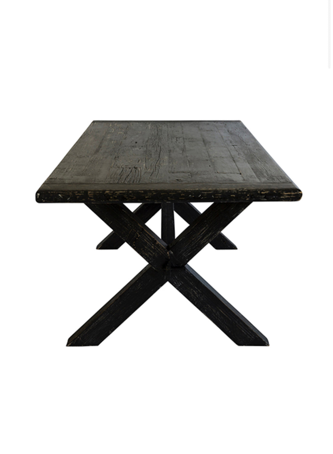 ELM DINING TABLE | BLACK | 2.8m