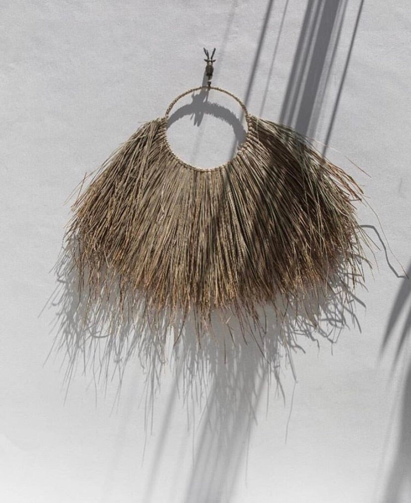 GRASS WALL HANGING