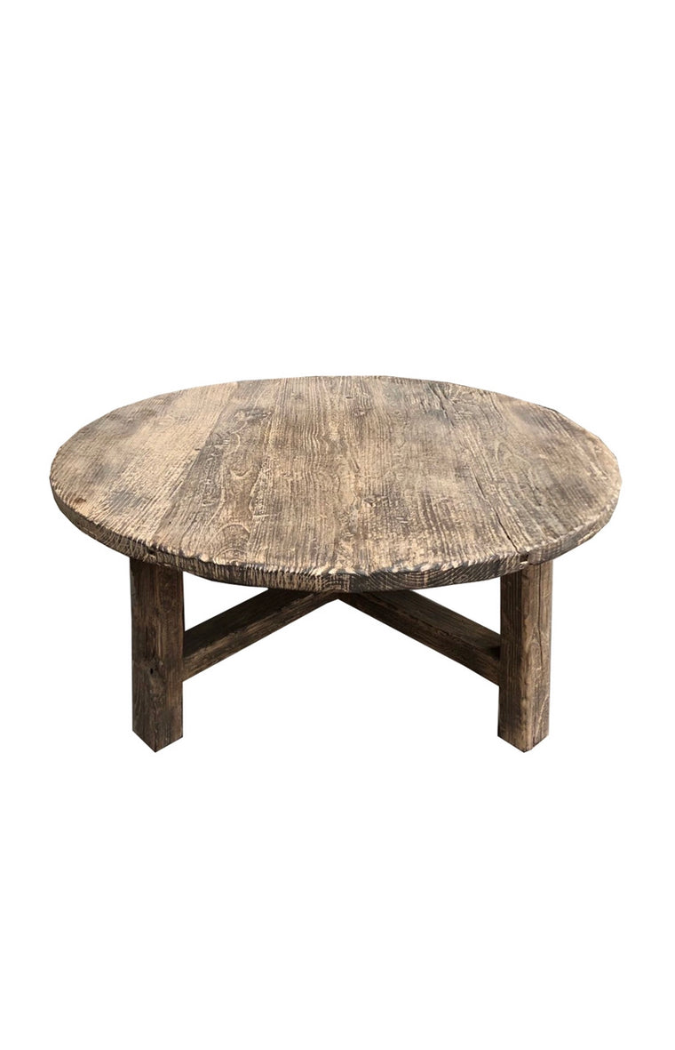 ELM COFFEE TABLE | DIAMETER 1.05m