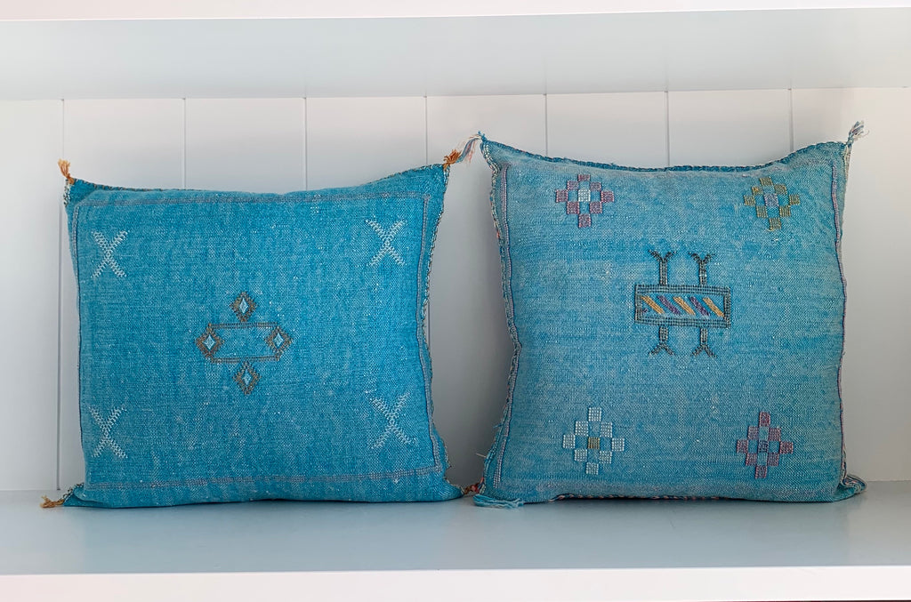 SABRA PILLOW / BLUE
