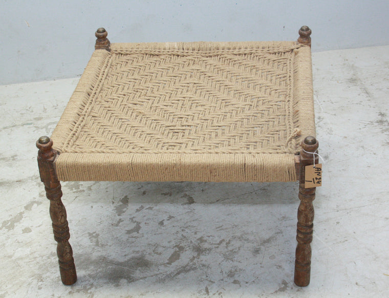 VINTAGE INDIAN LOW TABLE