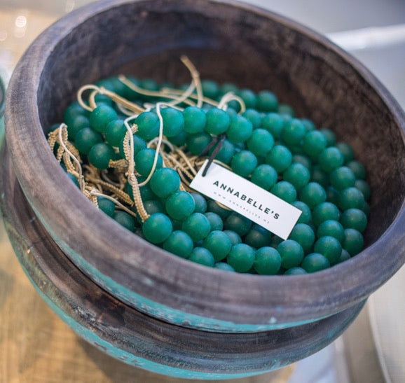BE BOLD BEADED NECKLACE | EMERALD
