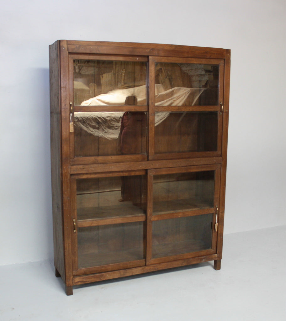 VINTAGE INDIAN DISPLAY CABINET